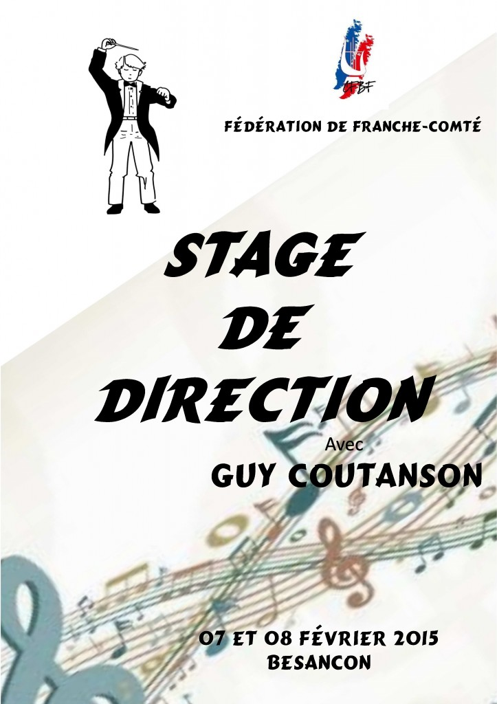 Stage direction Franche conté 2015