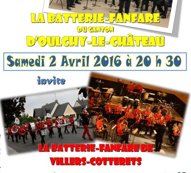 Affiche concert Oulchy red