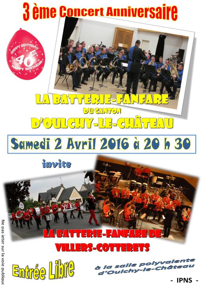 Affiche concert Oulchy