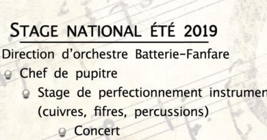 Stage national : la brochure est disponible
