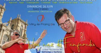 Un grand succès pour les Fanfarades à Vitry le François