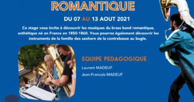 Stage de Brass Band romantique